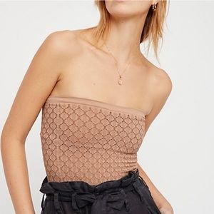 Free people - textured tube top